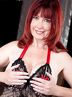 40 Something - Redheaded Super-Slut Heather Gets DP'd - Heather Barron (44 Photos)