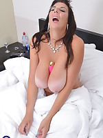 Huge breasted housewife Lulu wants you to play along
